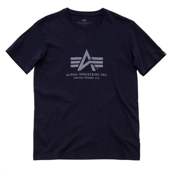 Alpha Industries triko Basic repl.blue