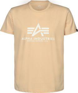 Alpha Industries triko Basic Caramel