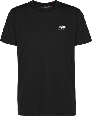 Alpha Industries Basic T Small Logo (black)