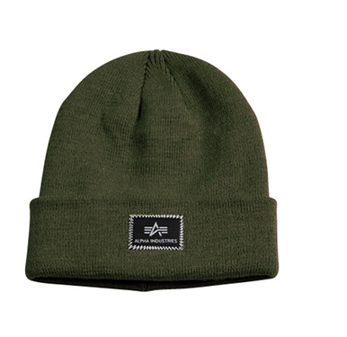 Alpha Industries čepice X-Fit Beanie Dark green