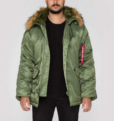 Alpha Industries N3B zelená 100106