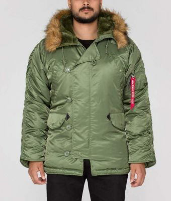 Alpha Industries N3-B zelená 100106