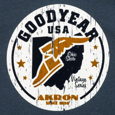 Goodyear mikina REEDWOOD Marl Navy