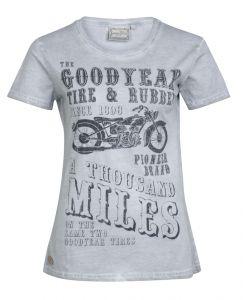 Goodyear dámské tričko PILOT ROCK Vintage grey