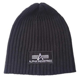Alpha Industries Beanie černá