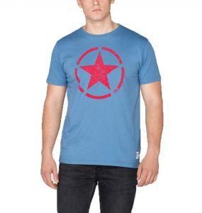 Alpha Industries triko Star T Powder blue