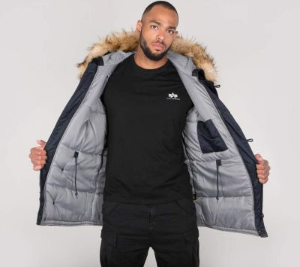 Airborne Zimní kabát 188141 07 Alpha Industries