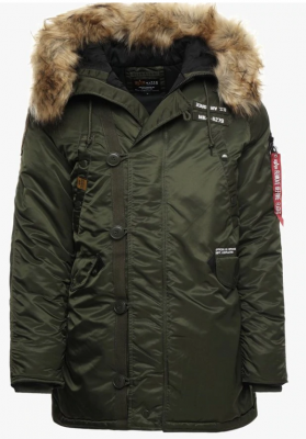 Bunda Alpha Industries N3B Airborne (dark green)