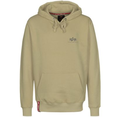 Alpha Industries Basic Hoody Small Logo (olive)