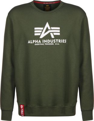 Alpha Industries Basic Sweater (dark olive)