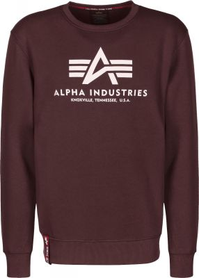 Alpha Industries mikina Basic Sweater (deep maroon)