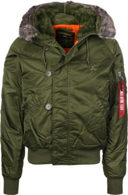 Alpha Industries N2-B VF 59 (dark green)