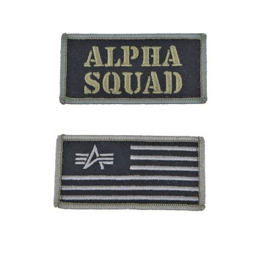 Alpha Industries černá kšiltovka VLC Patch Cap (dark green) - Etappa