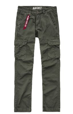Alpha Industries Agent Pant (dark olive)