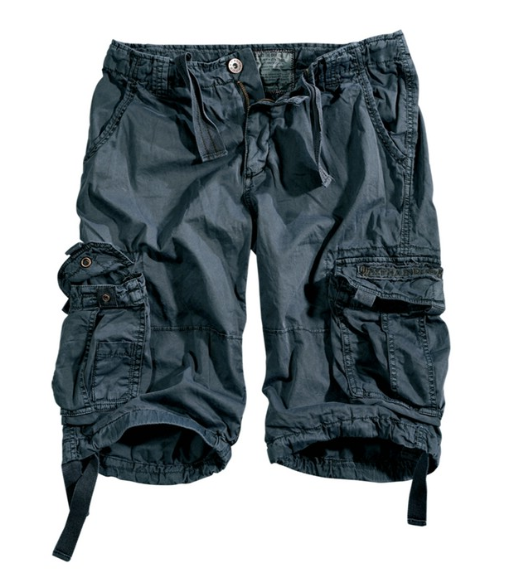 191200-136   Alpha Industries šortky Jet Short greyblack