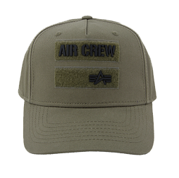 Alpha Industries Air Crew Cap (dark green)