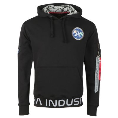Alpha Industries Moon Landing Hoody (black)