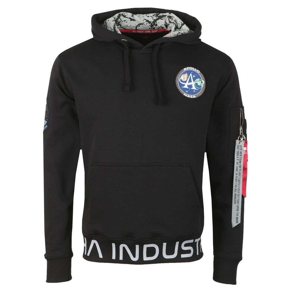 196305-03   Alpha Industries Moon Landing Hoody
