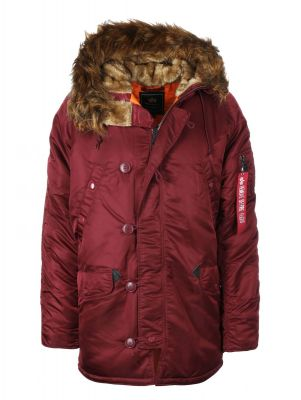 Alpha Industries pánská bunda N3B VF 59 (deep maroon)