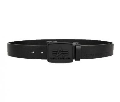 Alpha Industries All Black  Belt (Black)
