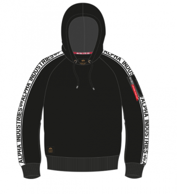 Alpha Industries AI Tape Hoody (black)