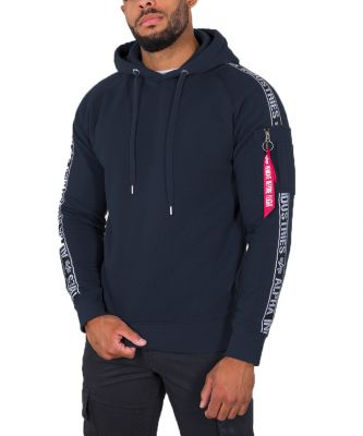 Alpha Industries AI Tape Hoody (new navy)