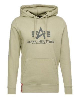 Alpha Industries Basic Hoody (light olive)