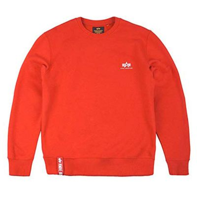 Alpha Industries Basic Sweater Small Logo (speed red)