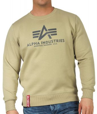 Alpha Industries Basic Sweater (světle olivová)