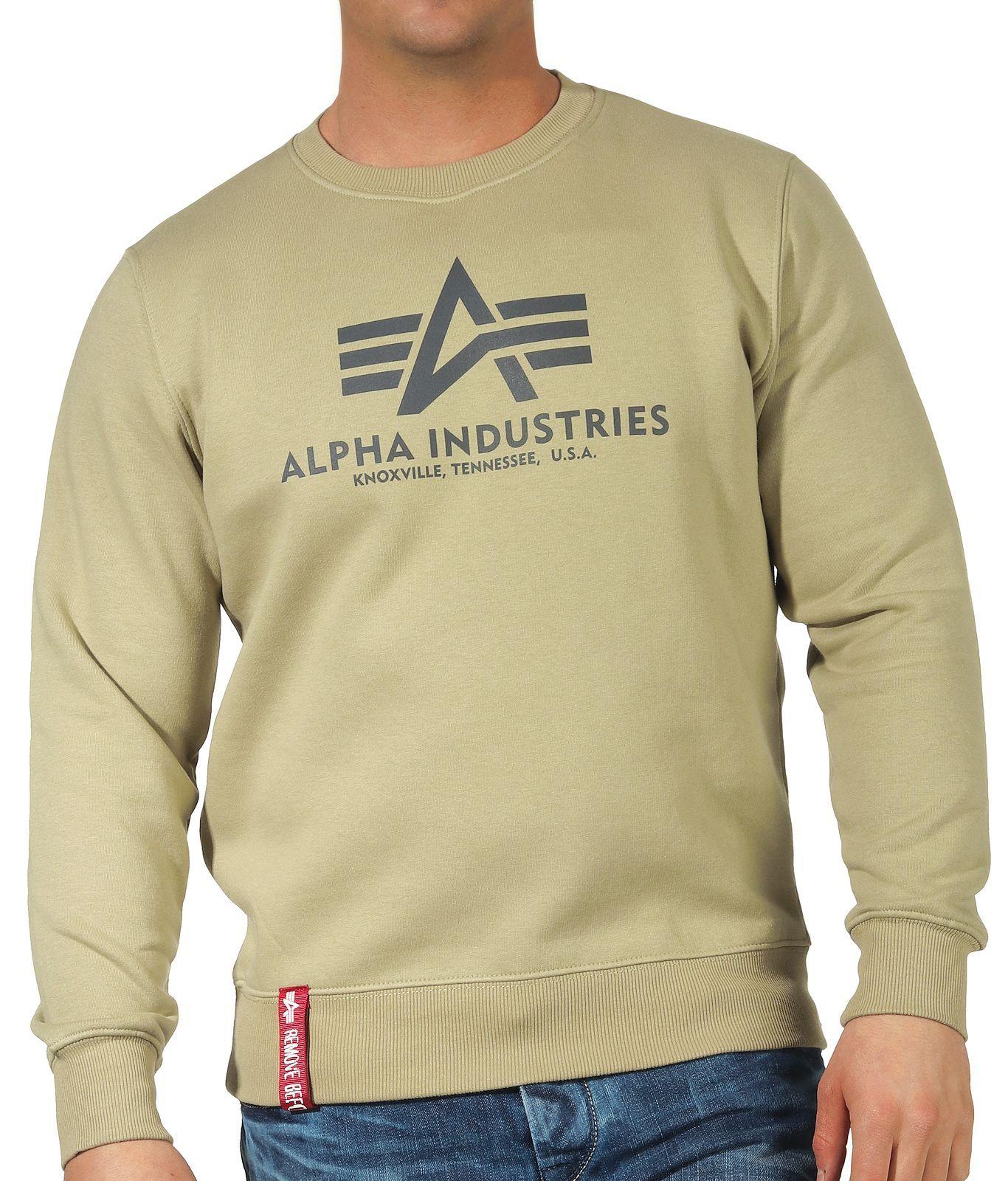 178302-82   Alpha Industries Basic Sweater (světle olivová)