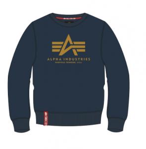 Alpha Industries Basic Sweater (new navy/wheat)