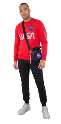 198309-328 Alpha Industries mikina NASA Reflective Sweater