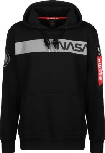 Alpha Industries mikina NASA RS Hoody (černá)