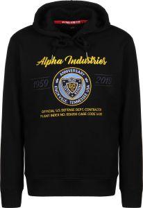 Alpha Industries mikina 59-19 Hoody (černá)