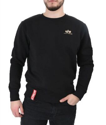 188307-365   Alpha Industries Basic Sweater Small Logo (gold)