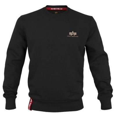 Alpha Industries Basic Sweater Small Logo (gold)