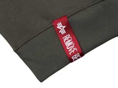 Sweater Small Logo (olive)