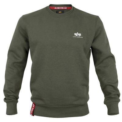 Alpha Industries Basic Sweater Small Logo (olive)