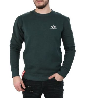Alpha Industries Basic Sweater Small Logo (dark petrol)