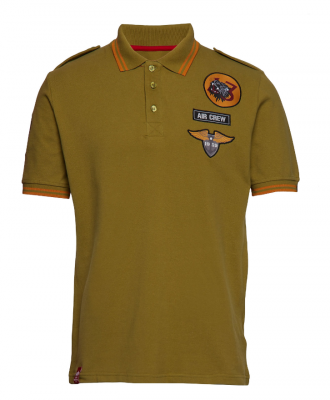 Alpha Industries Air Crew Polo (khaki)