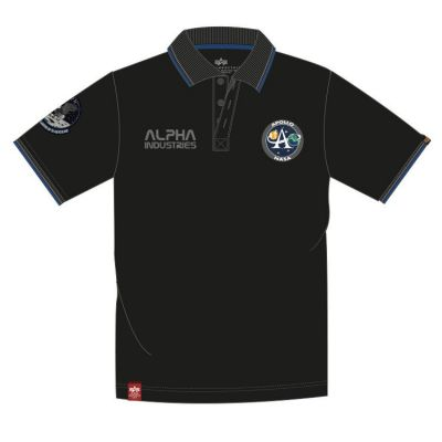 Alpha Industries Moon Landing Polo (black)