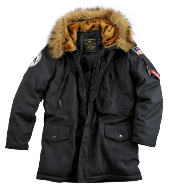 Bunda Alpha Industries Polar Jacket (Black)