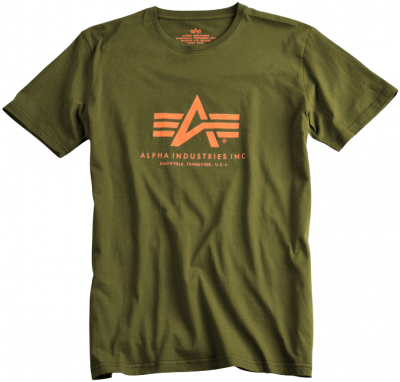 Alpha Industries Basic T Khaki green