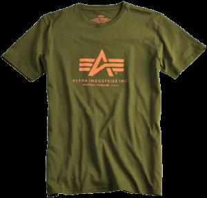 Alpha Industries Basic T Khaki green