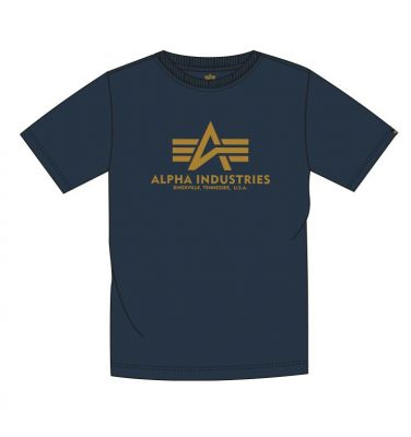 Alpha Industries Basic T New Navy