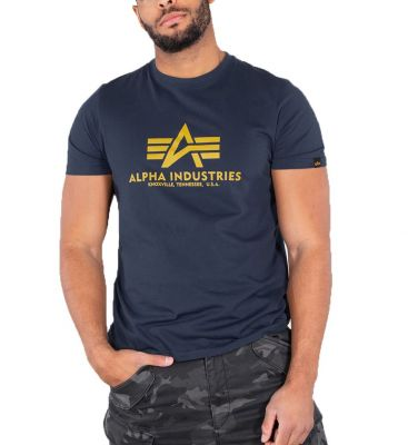 Alpha Industries Basic T New Navy 100501