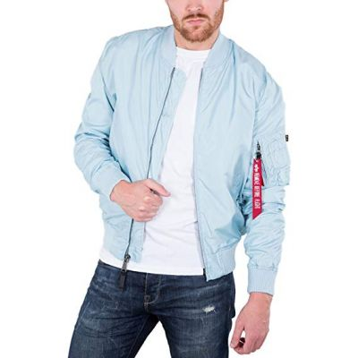191103-398   Alpha Industries pánská bunda MA1 TT (air. blue)