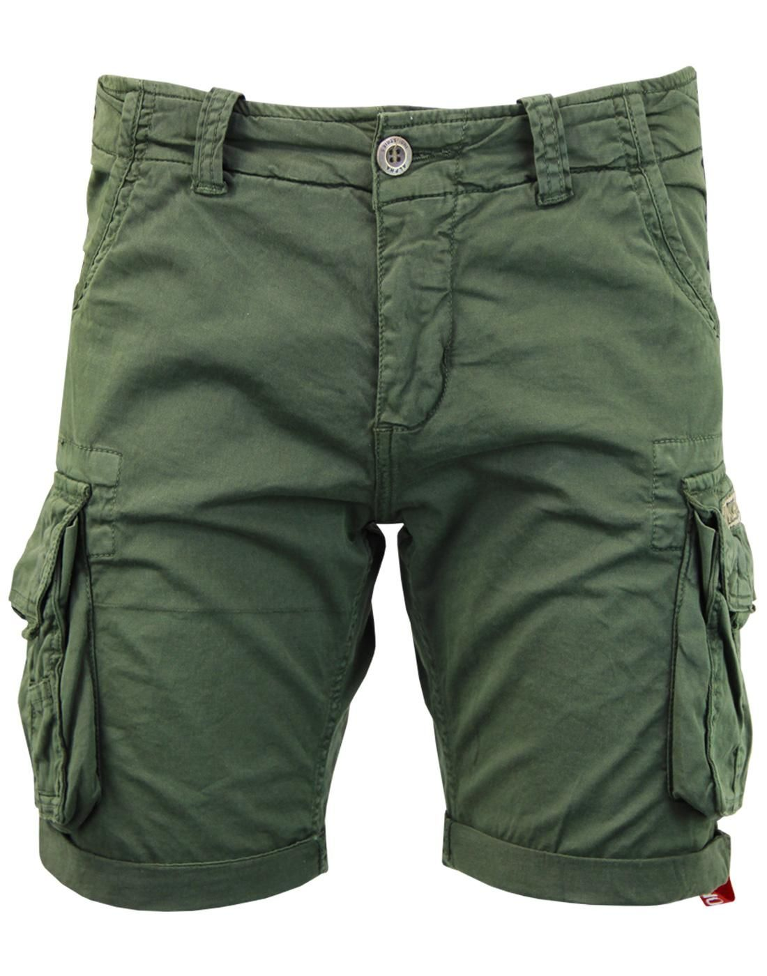 176203-142   Alpha Industries šortky Crew Short