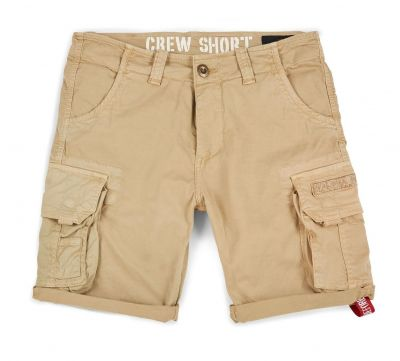 Alpha Industries šortky Crew Short (sand)