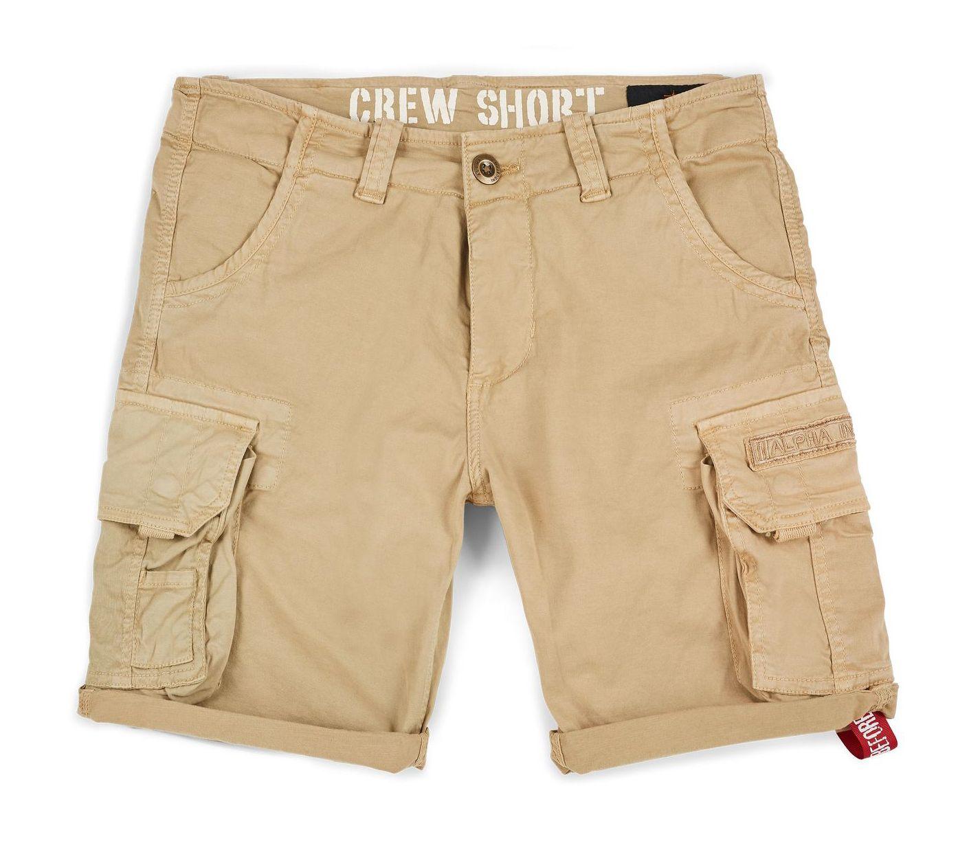 176203-14   Alpha Industries šortky Crew Short